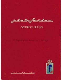 PININFARINA ARCHITECT OF CARS - MICHAEL FROSTICK - BOOK