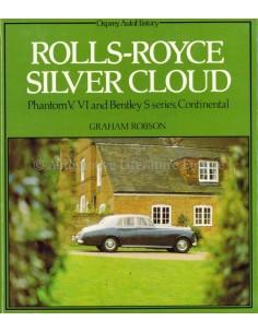 ROLLS ROYCE SILVER CLOUD - GRAHAM ROBSON - BOEK