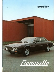 1980 DE TOMASO DEAUVILLE BROCHURE