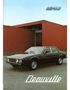 1980 DE TOMASO DEAUVILLE PROSPEKT