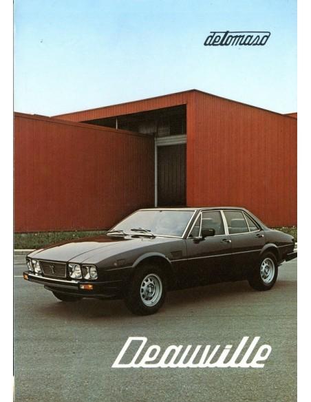 1976 DE TOMASO DEAUVILLE BROCHURE
