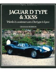 JAGUAR D TYPE & XKSS - GRAHAM ROBSON - BUCH