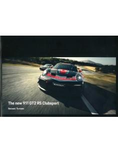 2019 PORSCHE 911 GT2 RS CLUBSPORT BROCHURE ENGLISH