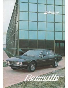 1979 DE TOMASO DEAUVILLE BROCHURE