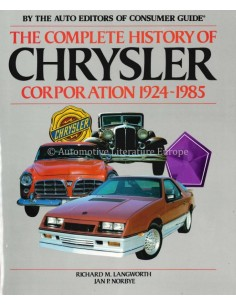 THE COMPLETE HISTORY OF CHRYSLER CORPORATION 1924-1985 - LANGWORTH & NORBYE - BOOK