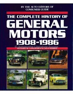 THE COMPLETE HISTORY OF GENERAL MOTORS 1908-1986 - LANGWORTH & NORBYE - BOOK