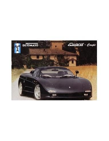 2000 DE TOMASO GUARA COUPE LEAFLET