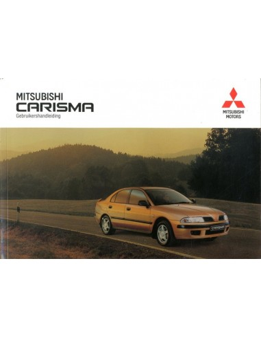2001 MITSUBISHI CARISMA INSTRUCTIEBOEKJE NEDERLANDS
