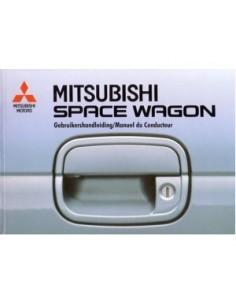 1993 MITSUBISHI SPACE WAGON INSTRUCTIEBOEKJE NEDERLANDS FRANS