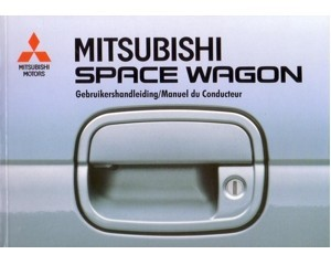 1997 mitsubishi space wagon owners manual handbook dutch french rh autolit eu mitsubishi space wagon service manual pdf mitsubishi space wagon service manual pdf