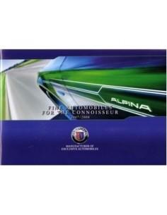 2007 2008 BMW ALPINA PROGRAMM PROSPEKT ENGLISCH