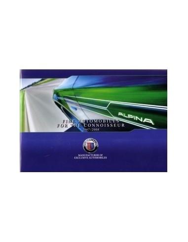 2007 2008 BMW ALPINA PROGRAMMA BROCHURE ENGELS
