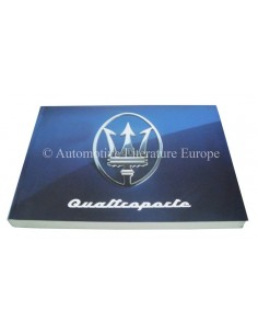 1994 MASERATI QUATTROPORTE IV OWNER'S MANUAL FRENCH GERMAN