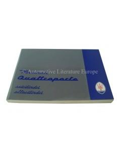 1996 MASERATI QUATTROPORTE IV INSTRUCTIEBOEKJE ITALIAANS