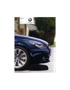 2008 BMW 5 SERIES SALOON BROCHURE JAPANISH