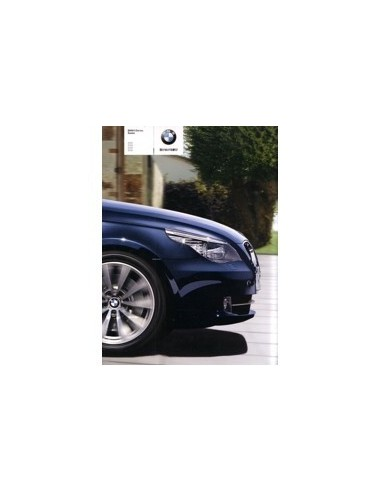2008 BMW 5 SERIEN SEDAN BROCHURE JAPANS