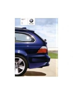 2008 BMW 5 SERIEN TOURING PROSPEKT JAPANISCH