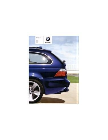 2008 BMW 5 SERIEN TOURING BROCHURE JAPANS
