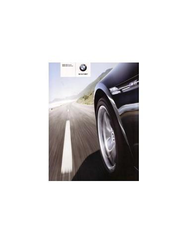 2008 BMW M6 COUPE CABRIOLET BROCHURE JAPANS