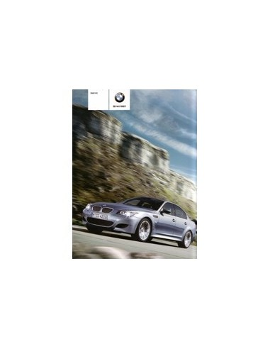 2008 BMW M5 BROCHURE JAPANS