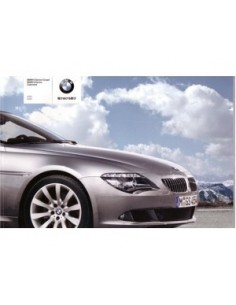2008 BMW 6 SERIES COUPE CONVERTIBLE BROCHURE JAPANISH