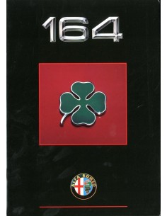 1990 ALFA ROMEO 164 QV BROCHURE DUTCH