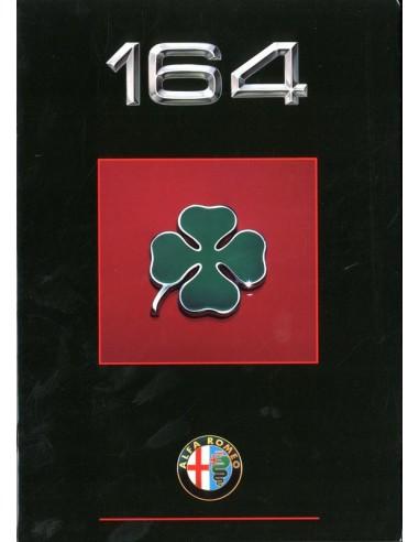1990 ALFA ROMEO 164 QV BROCHURE NEDERLANDS