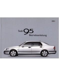 2001 SAAB 9.5 INSTRUCTIEBOEKJE DUITS