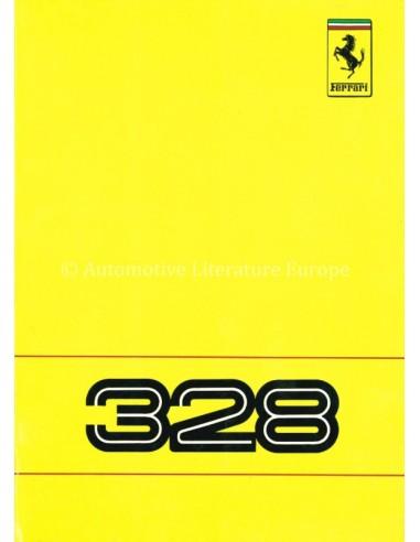1988 FERRARI 328 OWNERS MANUAL 513/88