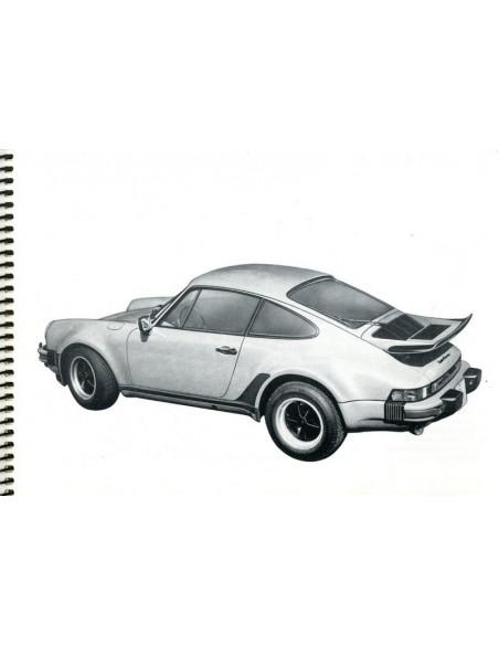 1977 PORSCHE 911 TURBO INSTRUCTIEBOEKJE DUITS