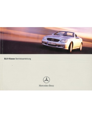 2001 MERCEDES BENZ SLK CLASS OWNERS...