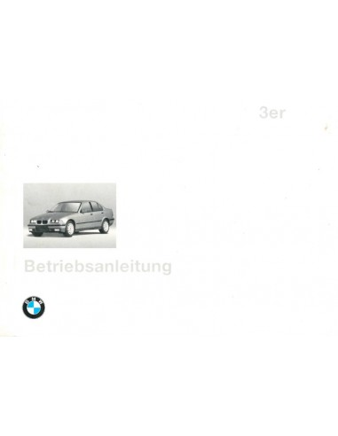 1996 BMW 3 SERIE INSTRUCTIEBOEKJE DUITS