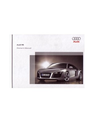 2006 AUDI R8 HARDCOVER INSTRUCTIEBOEKJE ENGELS