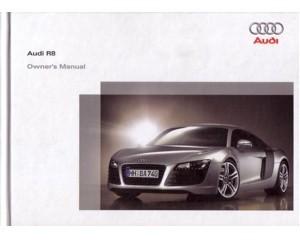 2006 audi r8 hardcover owners manual handbook english automotive rh autolit eu Renault Trezor Renault Dauphine