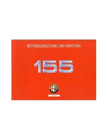 1992 ALFA ROMEO 155 INSTRUCTIEBOEKJE DUITS