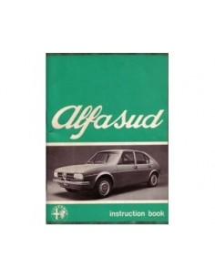 1974 ALFA ROMEO ALFASUD OWNERS MANUAL ENGLISH
