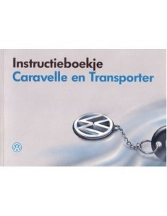1994 VOLKSWAGEN CARAVELLE & T4 OWNERS MANUAL HANDBOOK DUTCH