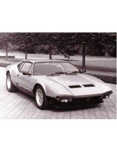 1983 DE TOMASO PANTERA GTS PRESS PHOTO