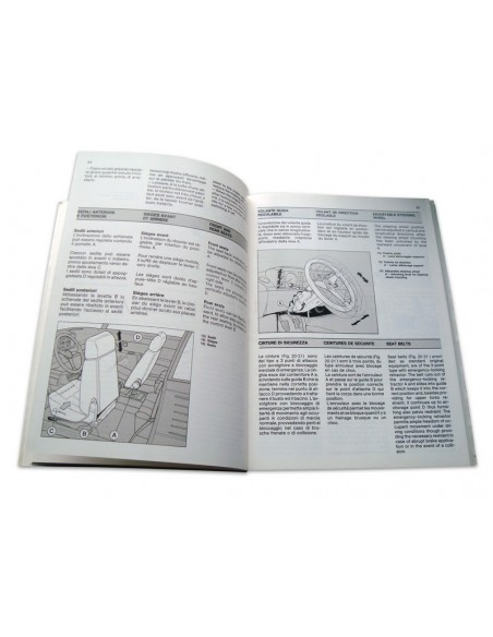 1987 FERRARI 3.2 MONDIAL INSTRUCTIEBOEKJE 474/87