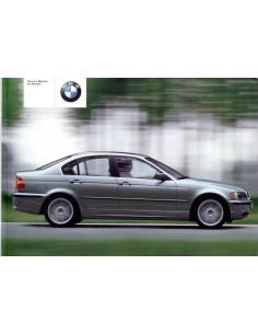 2001 BMW 3 SERIE INSTRUCTIEBOEKJE ENGELS