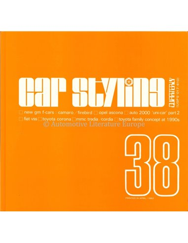 CAR STYLING 38- BOOK