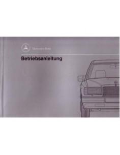 1991 MERCEDES BENZ E CLASS DIESEL OWNERS MANUAL HANDBOOK GERMAN