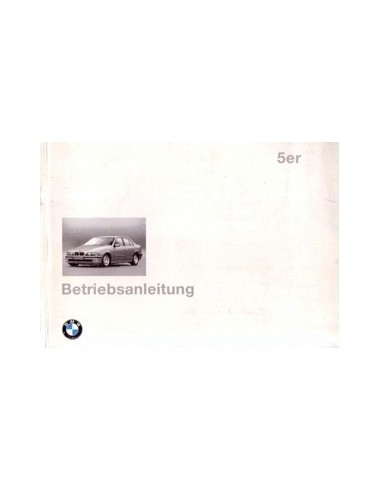 1995 BMW 5 SERIE INSTRUCTIEBOEKJE DUITS