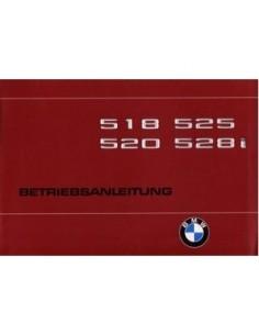 1980 BMW 5 SERIES OWNERS MANUAL HANDBOOK GERMAN