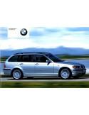 2002 BMW 3 SERIE TOURING INSTRUCTIEBOEKJE DUITS