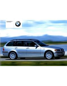 2002 BMW 3 SERIES TOURING OWNER'S MANUAL GERMAN