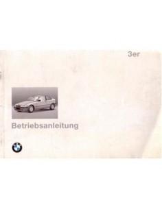 1994 BMW 3 SERIE COMPACT INSTRUCTIEBOEKJE DUITS