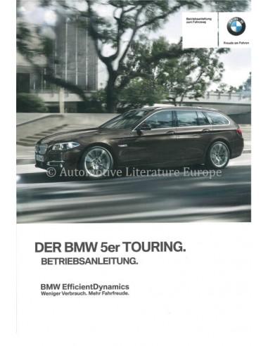 2015 BMW 5 SERIES TOURING OWNERS MANUAL GERMAN