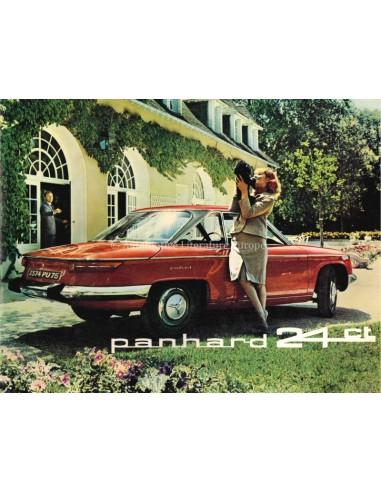 1965 PANHARD 24 CT BROCHURE DUTCH