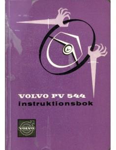 1961 VOLVO PV 544 BETRIEBSANLEITUNG SCHWEDISCH